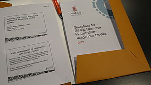 Australian Institute of Aboriginal and Torres Strait Islander Studies - The Guidelines for Ethical Research in Australian Indigenous Studies (GERAIS)