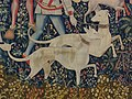 The Hunters Enter the Woods (from the Unicorn Tapestries) MET DP240573.jpg