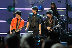 "Jonas Brothers - Jonas Brothers performing in the Kids' Inaugural: ""We Are the Future"" concert in 2009"