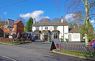 Bournheath - Image: The New Inn (1), 10 Doctors Hill, Bournheath (geograph 2833160)