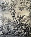 The Phillip Medhurst Picture Torah 146. Jacob's Dream. Genesis cap 28 v 12. De Vos.jpg