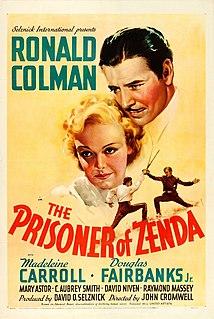 <i>The Prisoner of Zenda</i> (1937 film) 1937 film by John Cromwell