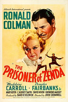 The Prisoner of Zenda (1937 film poster).jpg