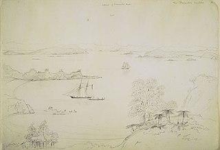 The Thames from Waihike [Waiheke]