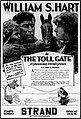 The Toll Gate (1920) - Ad 6.jpg
