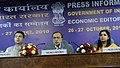 The Union Minister for Petroleum and Natural Gas, Shri Murli Deora addressing at the Economic Editors' Conference-2010, in New Delhi on October 27, 2010 (1).jpg