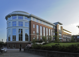 The Valley Library Library on the Oregon State University campus in Corvallis, Oregon, U.S.