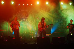 Strings (band) - Faisal Kapadia (left), Bilal Maqsood (centre), Shakir Khan (right)