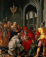 The circumcision of Christ. Oil painting after Hendrik Goltz Wellcome V0017406.jpg