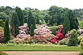 The formal gardens at Belsay Hall - geograph.org.uk - 1383724.jpg