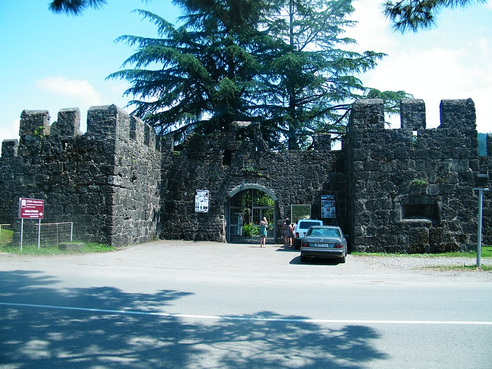 The gate of the Gonio castle