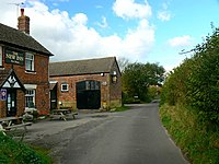 The road into Winterbourne Monkton - geograph.org.uk - 1010817.jpg