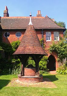 The Well In The Grounds Of Red House