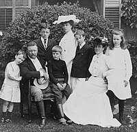 Theodore Roosevelt and family, 1903