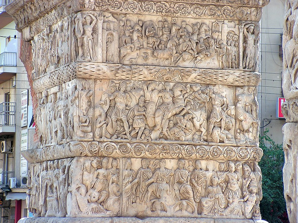 Thessaloniki-Arch of Galerius (detail)