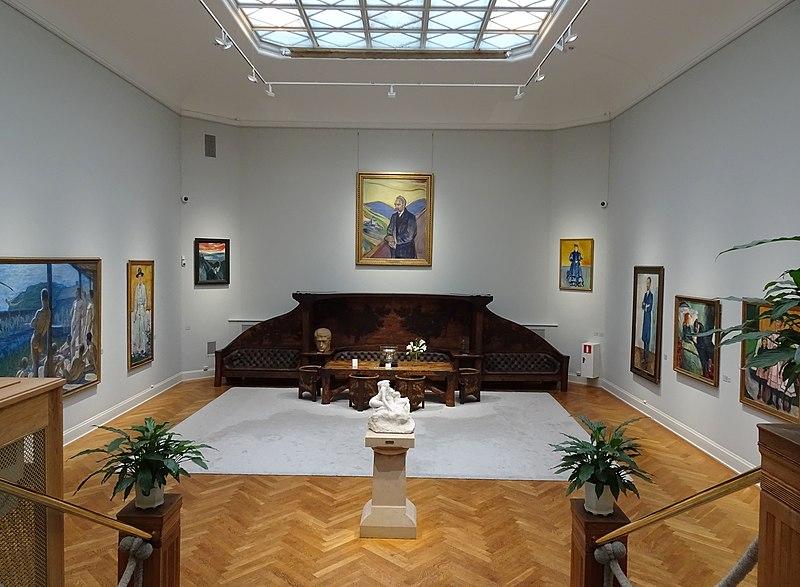 Thielska galleriet, Munchsalen, 2016.jpg