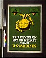 This device on hat or helmet means U.S. Marines - F. LCCN94514683.jpg