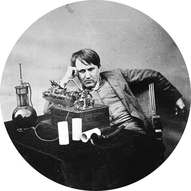 Thomas Edison, 1888