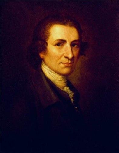 Thomas Paine by Matthew Pratt, 1785-95