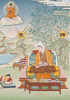 Purported inventor of the Tibetan script and grammar.