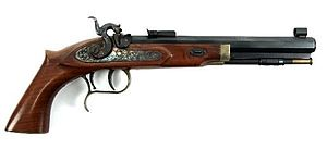 Thompson/Center Arms - Thompson Center Patriot Black Powder Muzzleloader Pistol chambered in .45.