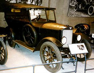 Thulin A (automobile) - Thulin A25 Phaeton 1923