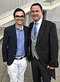 Tiago Felix Fernandes With PM Xavier Bettel Luxembourg.jpg