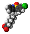 Tianeptine zwitterion spacefill.png