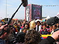 Tibetan Freedom Torch in ontvangst genomen.JPG