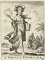 Tiburtijnse Sibille Sibylla Tyburtina (titel op object), RP-P-1896-A-19368-483.jpg