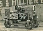 Timber straddler outside the Harkness & Hillier factory (4580643508).jpg