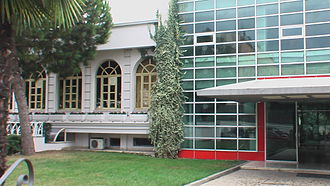 Socialist Party of Albania - Socialist Party Headquarters in Tirana