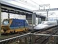 Tokaido Shinkansen Kyoto station railway track maintenancea line 01.jpg