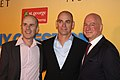 Tom Gleisner, Rob Sitch, Michael Hirsh 2012 (2).jpg
