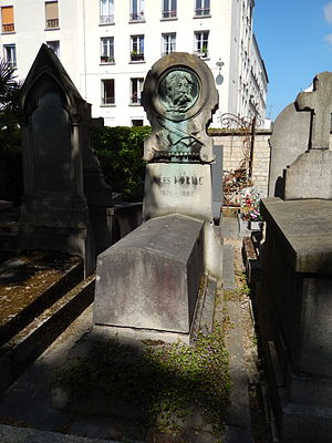 Jules Noriac - Jules Noriac's grave at Montmartre Cemetery