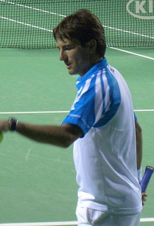 Tommy Robredo - Robredo at the Australian Open