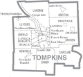 Tompkins County, New York Divisions.PNG