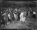 Topaz, Utah. Evacuees celebrate New Year's Eve. Japanese Americans at Central Utah Relocation Cent . . . - NARA - 539711.tif