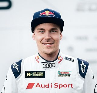 Toomas Heikkinen Finnish rallycross driver