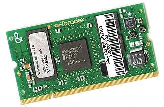 XScale - Toradex Colibri XScale Monahans PXA290 SODIMM-module (Prototype Of Marvell PXA320 SODIMM-module)