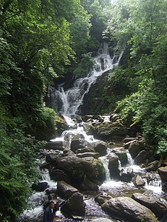 Torc Waterfall Waterfall in Killarney, Ireland