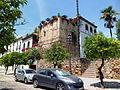Torreón del Castillo - Muralla del Castillo de la Judería.JPG