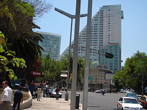 Torre 1 Reforma 222 y torre 3
