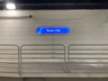 Tower City Shaker platform signage.png