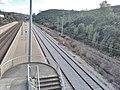 Track 3 of Chão de Maçãs-Fátima train station.jpg