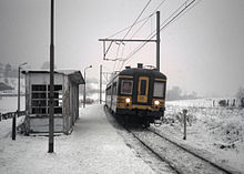 Train by Franchimont in the snow in 1985 II.jpg