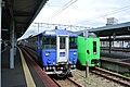 Trains at Hakodate Station 20140807.jpg