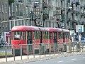 Trams grochowska2 warsaw.JPG