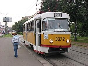 москва фото трамваев