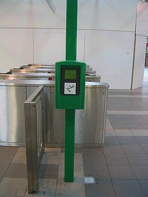SmartRider - SmartRider processor at Perth Station.